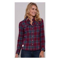 Brakeburn Koszula Damska 10 Burgundowa. Fioletowe koszule damskie marki DOMYOS, l, z bawełny. W wyprzedaży za 145,00 zł.