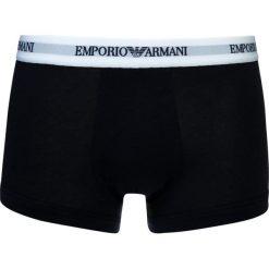 Emporio Armani 2 PACK Panty white/blue. Białe bokserki męskie Emporio Armani, z bawełny. Za 129,00 zł.
