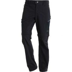 Spodnie męskie: Jack Wolfskin ACTIVATE LIGHT ZIP OFF Spodnie materiałowe black
