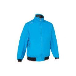 Bluza żeglarska RACE 100 męska. Czarne bluzy męskie rozpinane marki TRIBORD, m, z elastanu. Za 169,99 zł.