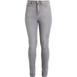 Denim is Dead NAIVE Jeans Skinny Fit light grey wash. Szare boyfriendy damskie Denim is Dead. Za 389,00 zł.