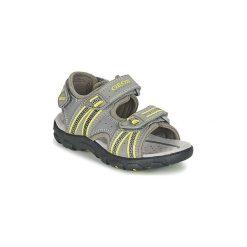 Sandały sportowe Dziecko  Geox  J S.STRADA A. Szare buty sportowe chłopięce Geox. Za 202,30 zł.