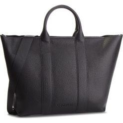 Torebka CALVIN KLEIN - Race Ew Shopper K60K604838 001. Czarne shopper bag damskie Calvin Klein, ze skóry ekologicznej. Za 749,00 zł.