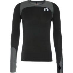 Koszulki sportowe męskie: Newline ICONIC VENT Koszulka sportowa dark asphalt/black/green concrete