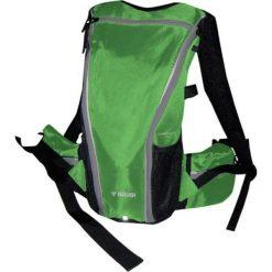 Plecak rowerowy w kolorze zielonym. Zielone plecaki męskie Ciepło i przytulnie, z nadrukiem, z materiału. W wyprzedaży za 89,00 zł.
