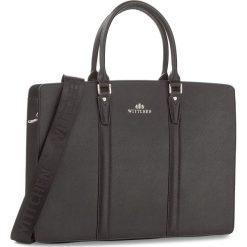 Torba na laptopa WITTCHEN - 85-3U-113-1 Czarny. Czarne plecaki męskie Wittchen. W wyprzedaży za 429,00 zł.