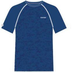 Hi-tec Koszulka męska Deran Monaco Blue/Monaco Blue Pixel Camo Print r. XL. Niebieskie t-shirty męskie Hi-tec, m. Za 47,12 zł.