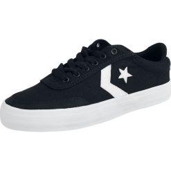 Converse Courtlandt - OX Buty sportowe czarny/biały. Białe buty sportowe męskie Converse, z gumy. Za 199,90 zł.