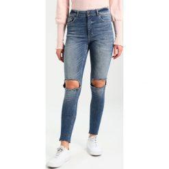 Cheap Monday HIGH SKIN PCW, CARE OFF C/O Jeans Skinny Fit cut blue. Niebieskie jeansy damskie bootcut marki bonprix. W wyprzedaży za 149,50 zł.
