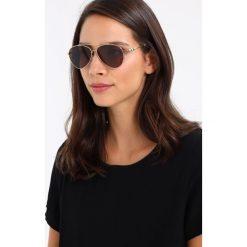 Burberry Okulary przeciwsłoneczne goldcoloured/brown. Czarne okulary przeciwsłoneczne damskie lenonki marki Burberry. Za 889,00 zł.