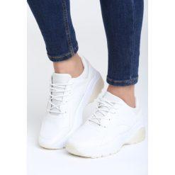 Białe Sneakersy Backyard. Białe sneakersy damskie vices, z materiału. Za 89,99 zł.