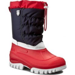Buty zimowe chłopięce: Śniegowce CMP – Kids Hanki 3Q48064J Nautico N997