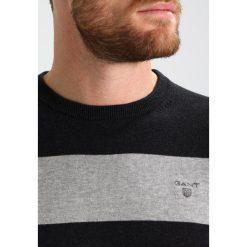 Kardigany męskie: GANT BARSTRIPE CREW Sweter dark charcoal