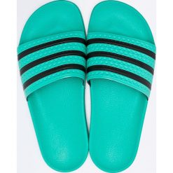 Adidas Originals - Klapki. Szare klapki męskie adidas Originals, z materiału. W wyprzedaży za 139,90 zł.