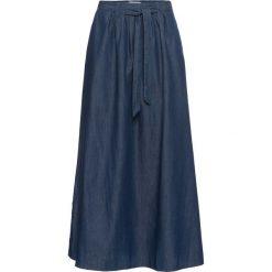 Długie spódnice: Długa spódnica dżinsowa bonprix niebieski