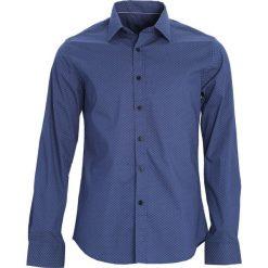 Ciemnoniebieska Koszula Performance Art. Czarne koszule męskie marki Born2be, l, z aplikacjami, z dresówki. Za 64,99 zł.