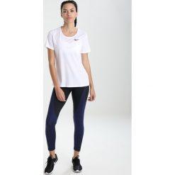 Topy sportowe damskie: Nike Performance ALL OVER Tshirt basic white/b(lack