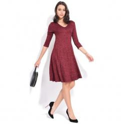 Fille Du Couturier Sukienka Damska Emeraude 38 Burgund. Czerwone długie sukienki Fille Du Couturier, z długim rękawem. Za 229,00 zł.