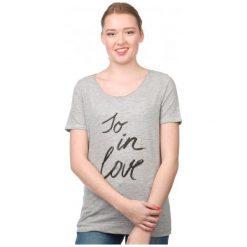 S.Oliver T-Shirt Damski 34 Szary. Szare t-shirty damskie S.Oliver, s. W wyprzedaży za 45,00 zł.