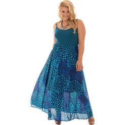 Spódnice wieczorowe: Spódnica w kolorze niebiesko-turkusowym