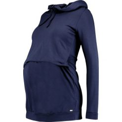 Bluzy rozpinane damskie: bellybutton Bluza z kapturem istanbul blue/blue