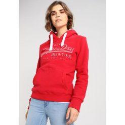 Bluzy damskie: Superdry VINTAGE LOGO ENTRY HOOD Bluza z kapturem flare red
