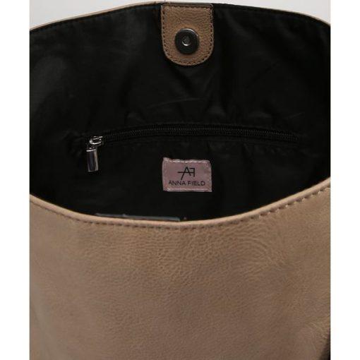 0d7fcef0d094c Anna Field Torba na zakupy taupe - Szare torebki klasyczne damskie ...