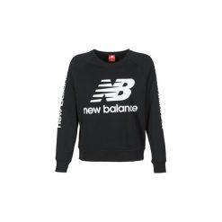 Bluzy New Balance  GRAPHIC SWEATER BLACK. Czarne bluzy rozpinane damskie New Balance, l. Za 260,10 zł.