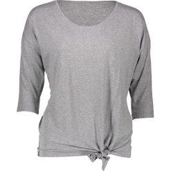 Koszulka w kolorze szarym. Szare bluzki damskie Taifun, z okrągłym kołnierzem. W wyprzedaży za 86,95 zł.