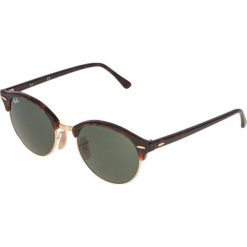 Okulary przeciwsłoneczne męskie: RayBan CLUBROUND Okulary przeciwsłoneczne brown/green