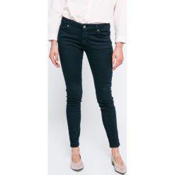 Answear - Jeansy Blossom Mood. Szare jeansy damskie rurki marki ANSWEAR. W wyprzedaży za 99,90 zł.