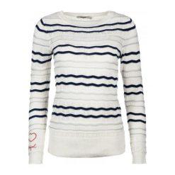 Desigual Sweter Damski L Biały. Białe swetry klasyczne damskie marki Desigual, l. Za 350,00 zł.