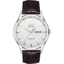 PROMOCJA ZEGAREK TISSOT HERITAGE VISODATE AUTOMATIC T019.430.16.031.01. Szare zegarki męskie TISSOT, pozłacane. W wyprzedaży za 1909,60 zł.