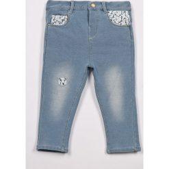 Rurki dziewczęce: Blukids – Spodnie dziecięce 74-98 cm