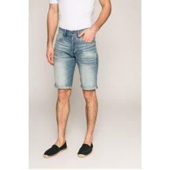 G-Star Raw - Szorty. Czarne spodenki jeansowe męskie marki G-Star RAW, l, retro. Za 329,90 zł.