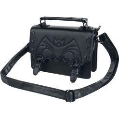 Banned Alternative Nocturne Torebka - Handbag czarny. Czarne torebki klasyczne damskie Banned Alternative, z aplikacjami, z aplikacjami. Za 164,90 zł.