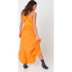 Sukienki: True Decadence Sukienka Halterneck – Orange