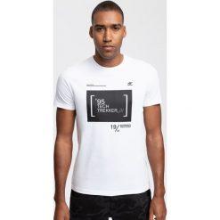 T-shirty męskie: T-shirt męski TSM264 - biały