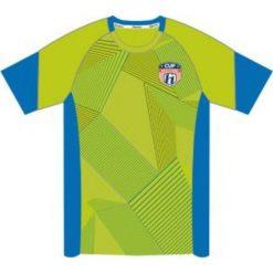 T-shirty chłopięce: Huari Koszulka juniorska Plata Kids T-shirt Tender Shoots/ French Blue  r. 122