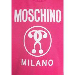 MOSCHINO Bluza pink. Czerwone bluzy dziewczęce MOSCHINO, z bawełny. W wyprzedaży za 335,20 zł.