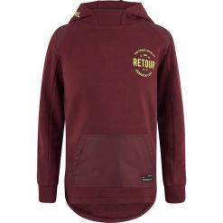 Bluza w kolorze ciemnoczerwonym. Czerwone bluzy chłopięce marki Retour Denim de Luxe, z bawełny. W wyprzedaży za 115,95 zł.