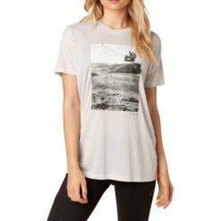 FOX T-Shirt Damski Picogram Ss M Szary. Szare t-shirty damskie marki FOX, z bawełny. W wyprzedaży za 69,00 zł.