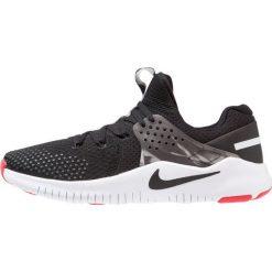Nike Performance FREE TRAINER V8 Obuwie treningowe black/white/red blaze. Czarne buty sportowe męskie Nike Performance, z materiału. Za 419,00 zł.
