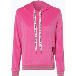 Grace - Damska bluza nierozpinana, różowy. Czerwone bluzy damskie Grace, l, z weluru. Za 439,95 zł.