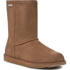 Buty EMU AUSTRALIA - Paterson Lo W10771 Oak. Brązowe buty zimowe damskie EMU Australia, z gumy. W wyprzedaży za 519,00 zł.