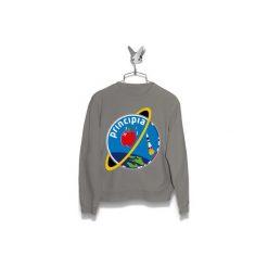 Bluza PRINCIPIA MISSION LOGO Męska. Szare bluzy męskie marki Button. Za 160,00 zł.