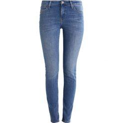 Lee SCARLETT  Jeans Skinny Fit high stake blue. Niebieskie jeansy damskie marki Lee. W wyprzedaży za 263,20 zł.