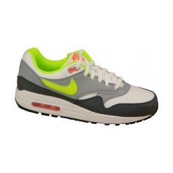 Buty sportowe damskie: Nike Buty damskie Air Max 1 Gs biało-szare r. 36.5 (555766-115)