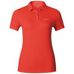 Bluzki damskie: Odlo Koszulka damska Polo shirt s/s TINA czerwona r. XS (221791)