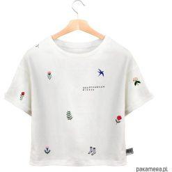 Nagotowałam bigosu - KOSZULKA T-SHIRT. Szare bluzki z odkrytymi ramionami marki Sinsay, l, z dekoltem na plecach. Za 69,00 zł.